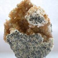Stellerite & Calcite
