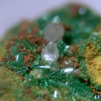 Brochantite & Cerussite
