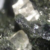 Magnesite & Actinolite