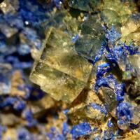 Fluorite Azurite & Malachite