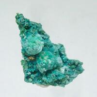 Chalcoalumite & Malachite