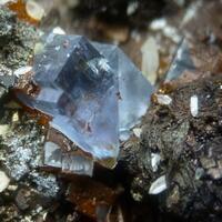 Fluorite & Cerussite