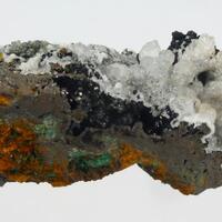 Cuprite Malachite & Calcite