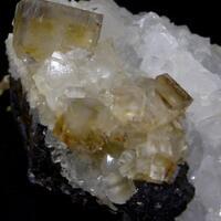 Fluorite Quartz & Sphalerite