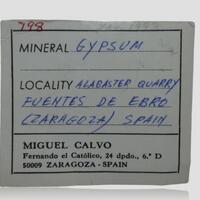 Causeway Minerals: 13 May - 20 May 2021