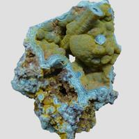 Mottramite & Chrysocolla