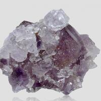 Quartz Var Amethyst & Rock Crystal