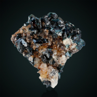 Lazulite Quartz & Siderite