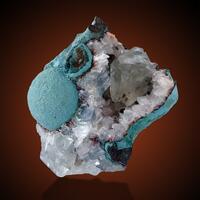 Celadonite & Calcite