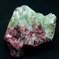 Agrellite Eudialyte Gittinsite Vlasovite & Graphite