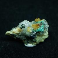 Bottinoite Dolomite Quartz & Ullmannite