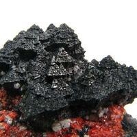Hausmannite Andradite Rhodochrosite & Calcite