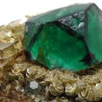 Fluorite Muscovite & Quartz