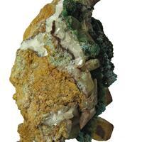 Malachite Plancheite & Quartz