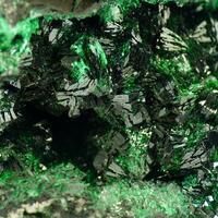 Heterogenite With Malachite