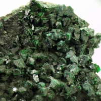 Libethenite & Malachite