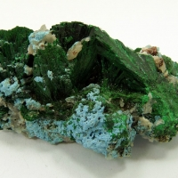 Malachite Plancheite & Quartz
