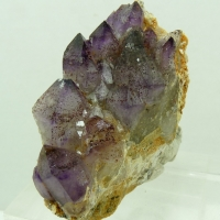 Amethyst With Hematite Inclusions