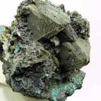 Tennantite Wulfenite & Calcite