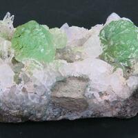 Prehnite Calcite & Quartz