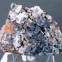 Hematite Over Baryte