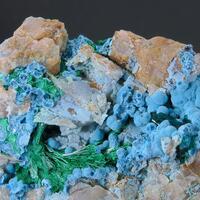 Shattuckite Plancheite Malachite & Dioptase