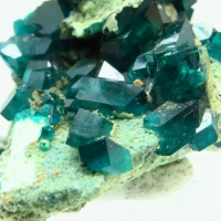 Orthoclase With Dioptase
