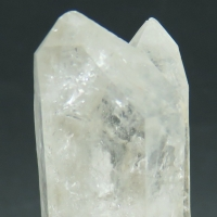 Quartz Enhydro With Inclusions