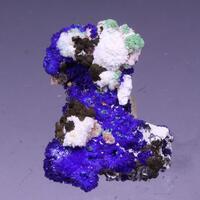 Azurite Aragonite & Conichalcite