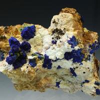Azurite Olivenite & Aragonite