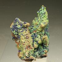 Quartz Azurite & Malachite