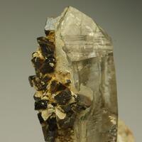 Quartz Siderite & Limonite