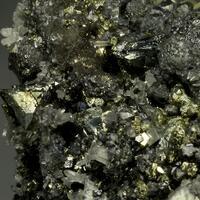 Geocronite Tennantite Calcite Pyrite & Sphalerite