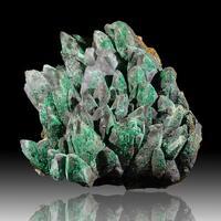 Goethite Psm Calcite Malachite & Conichalcite