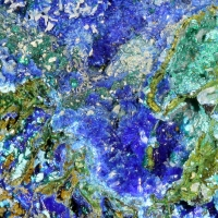 Linarite Brochantite & Cerussite
