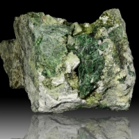 Scheelite Vesuvianite & Diopside