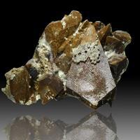 Calcite & Hedenbergite