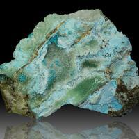 Chrysocolla Smithsonite & Aurichalcite
