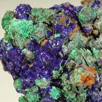 Cuprite Azurite & Brochantite