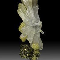 Scepter Quartz Siderite & Arsenopyrite