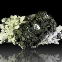 Arsenopyrite Pyrrhotite Quartz Boulangerite & Sphalerite