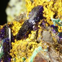 Azurite & Brochantite