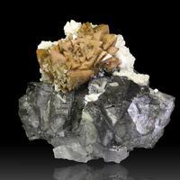 Genthelvite Magnetite Conchalcite Dolomite & Calcite