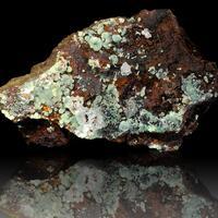 Cuprian Smithsonite Calcite & Adamite