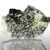 Andradite Magnetite Epidote & Diopside