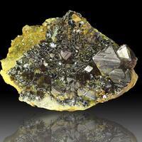Magnetite Andradite & Biotite