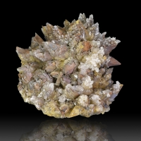 Goethite Psm Calcite & Calcite