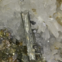 Arsenopyrite Rhodochrosite Quartz & Pyrite