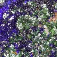 Olivenite & Azurite