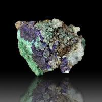 Azurite Malachite & Calcite